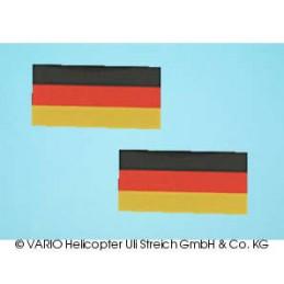 Deutschlandflagge klein Set...