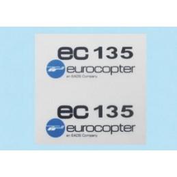 Logo EC 135, nero