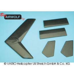 Stabiliser set big AIRWOLF, CF