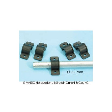 Skid clamp 12 mm ∅, GRP