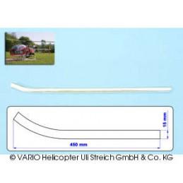 Skid tube 15 mm