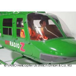 Kit verrières big Jet Ranger