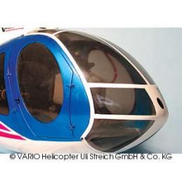 Hughes 500 E canopy, señaló