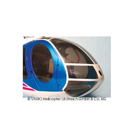 Hughes 500 E cristal delantero tintado