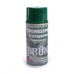 Spray transparente verde