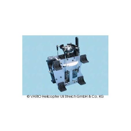 Mecánica de caja de cambios angular para helicóptero de doble rotor