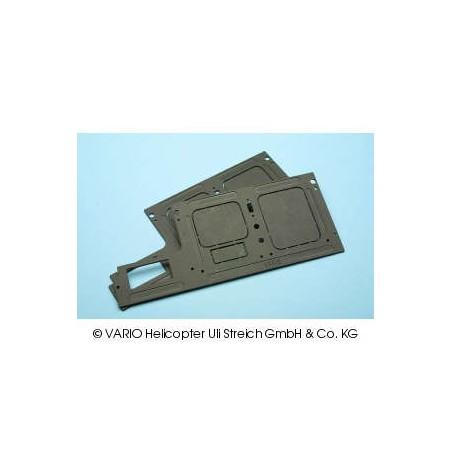RC frame, GFK, for X-Treme