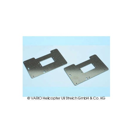 Placa lateral X-Treme, carbono