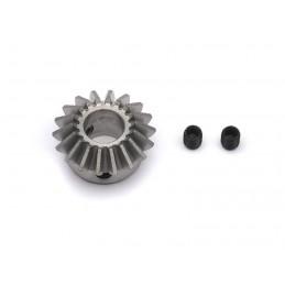 Piñon conico 6 mm, 18 dientes
