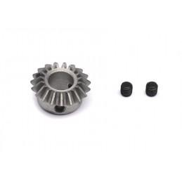 Piñon  conico 6 mm, 19-dientes