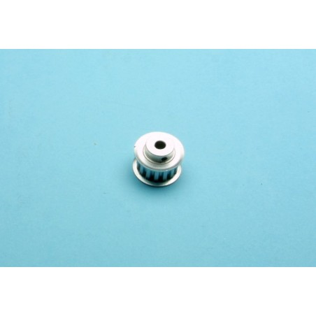 Toothed belt pulley 15 teeth for ø 6 mm shaft XL