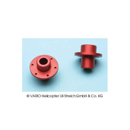 Hub for driven tail rotor