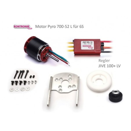 Electric drive set for SkyFox 1500 mm rotor disc 6S