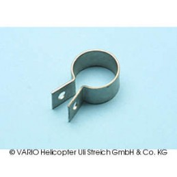 Stainless steel clamp, 18 mm