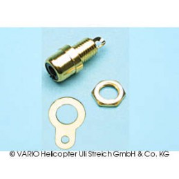 Contact socket gold-plated