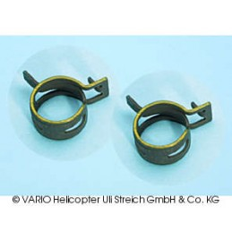 Spring clip for PTFE tube