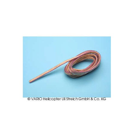 Silicone cable for glowplug lead