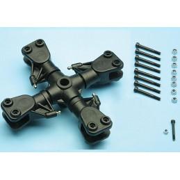 Tête rotor quadripales, 12mm