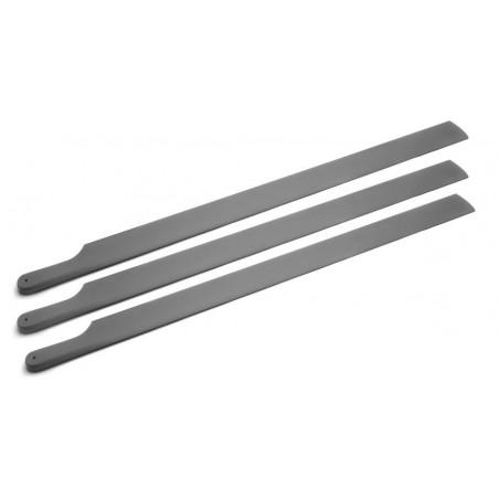 Set de 3 palas2500mm 22/o6 R/H Carbon