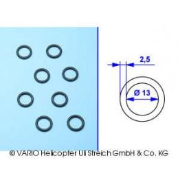 Torica de 2,5 x 13 mm