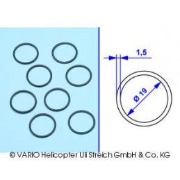 O-ring 1.5 x 19 mm soft