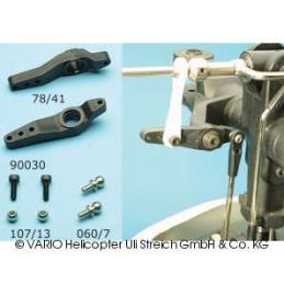 Mixer lever set