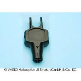 Hub central 12 mm, aluminio
