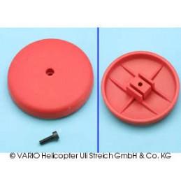 Rotor brake, GRP, red
