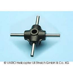 4-blade centre piece, 10 mm