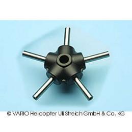 5-blade centre piece, 10 mm
