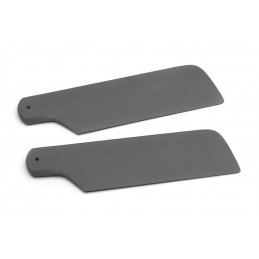 Tail rotor blades 156 mm, grey