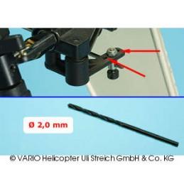 Broca de 2.0 mm