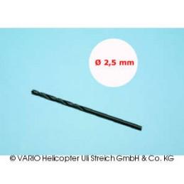 Broca de 2.5 mm